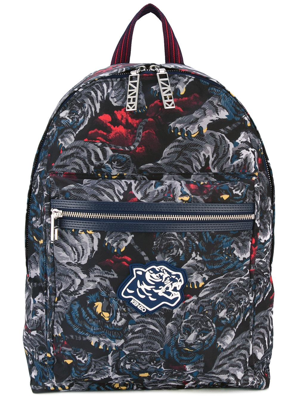 kenzo flying tiger backpack in black for men lyst. Black Bedroom Furniture Sets. Home Design Ideas