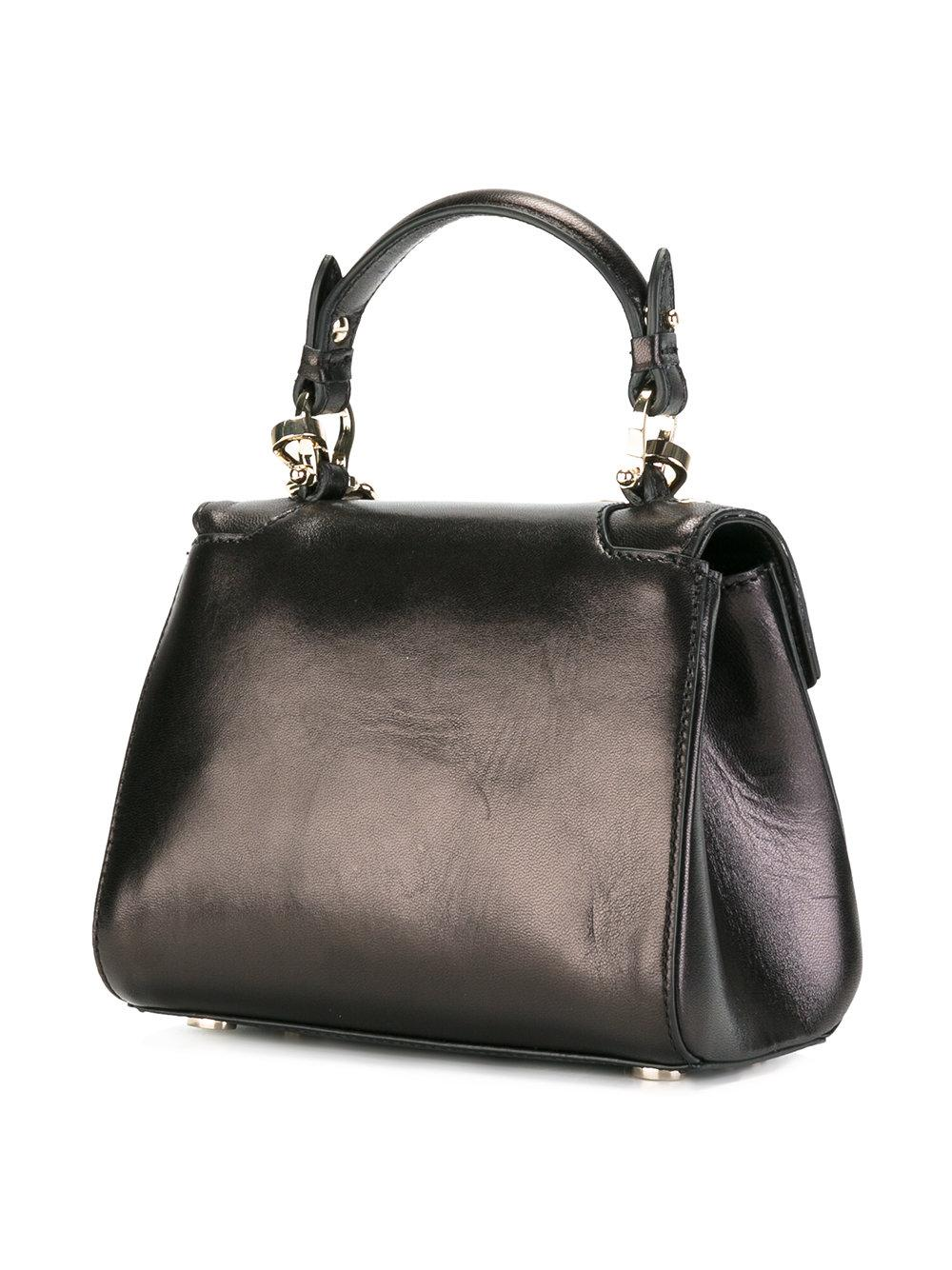 Hampstead Pre Owned >> Lyst - Trussardi Mini Lovy Bag in Brown