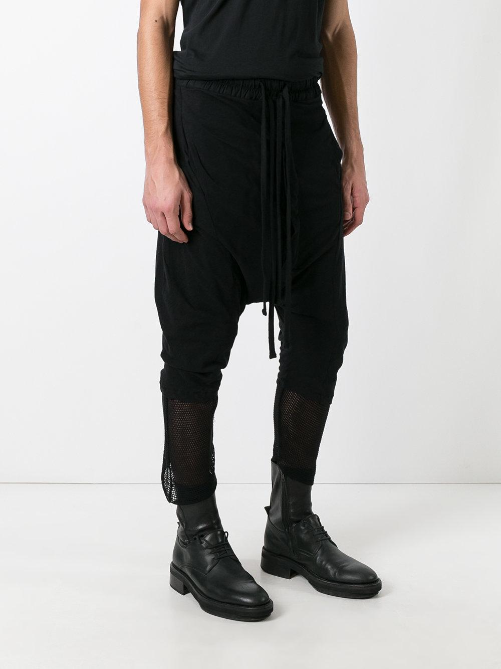 Thom krom Drop-crotch Trousers in Black for Men