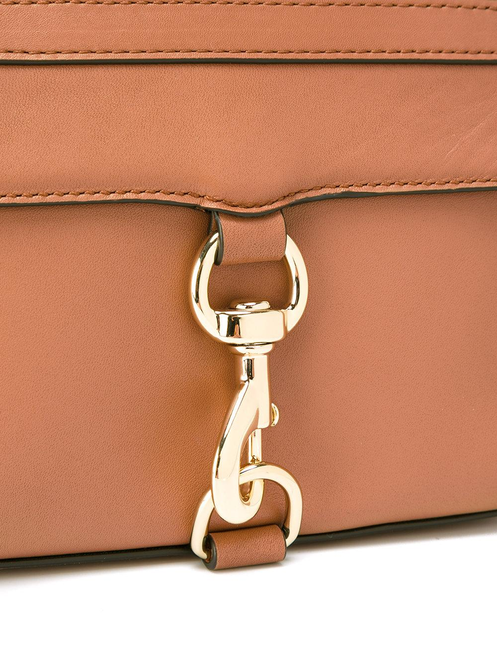 Rebecca Minkoff Leather Camera Bag Crossbody Bag in Brown