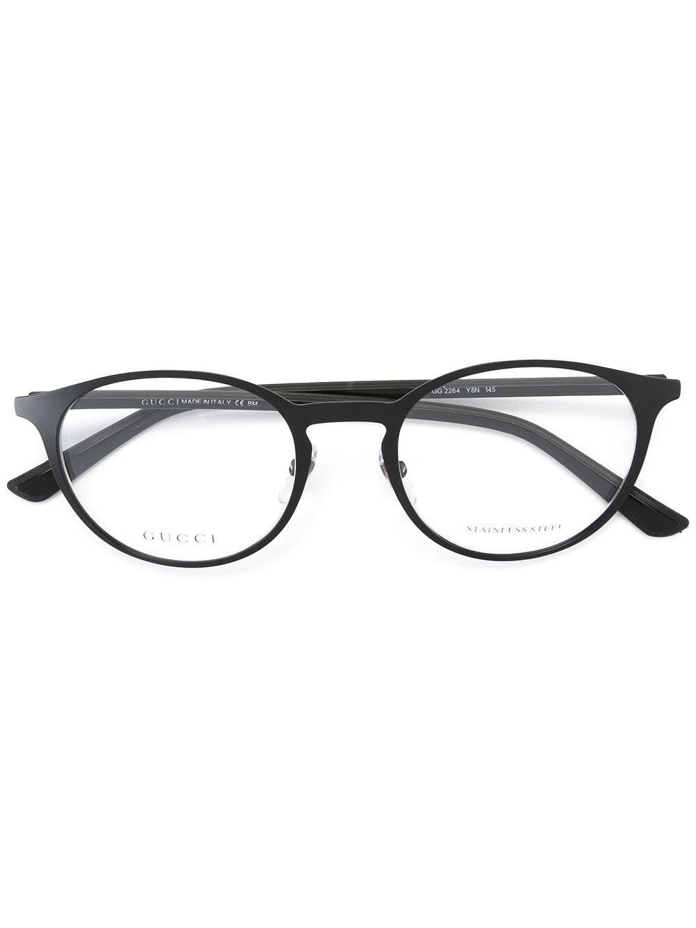 Gucci Eye Cat Shaped Glasses in Black Lyst