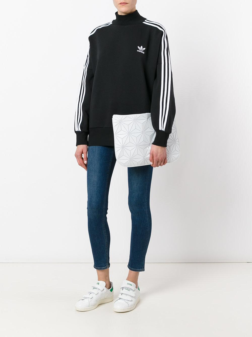 Lyst Adidas Originals Geometric Clutch Bag In White