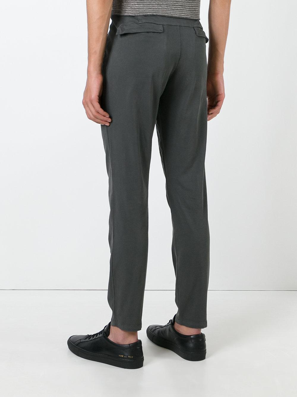 Transit Tapered Trousers in Gray for Men