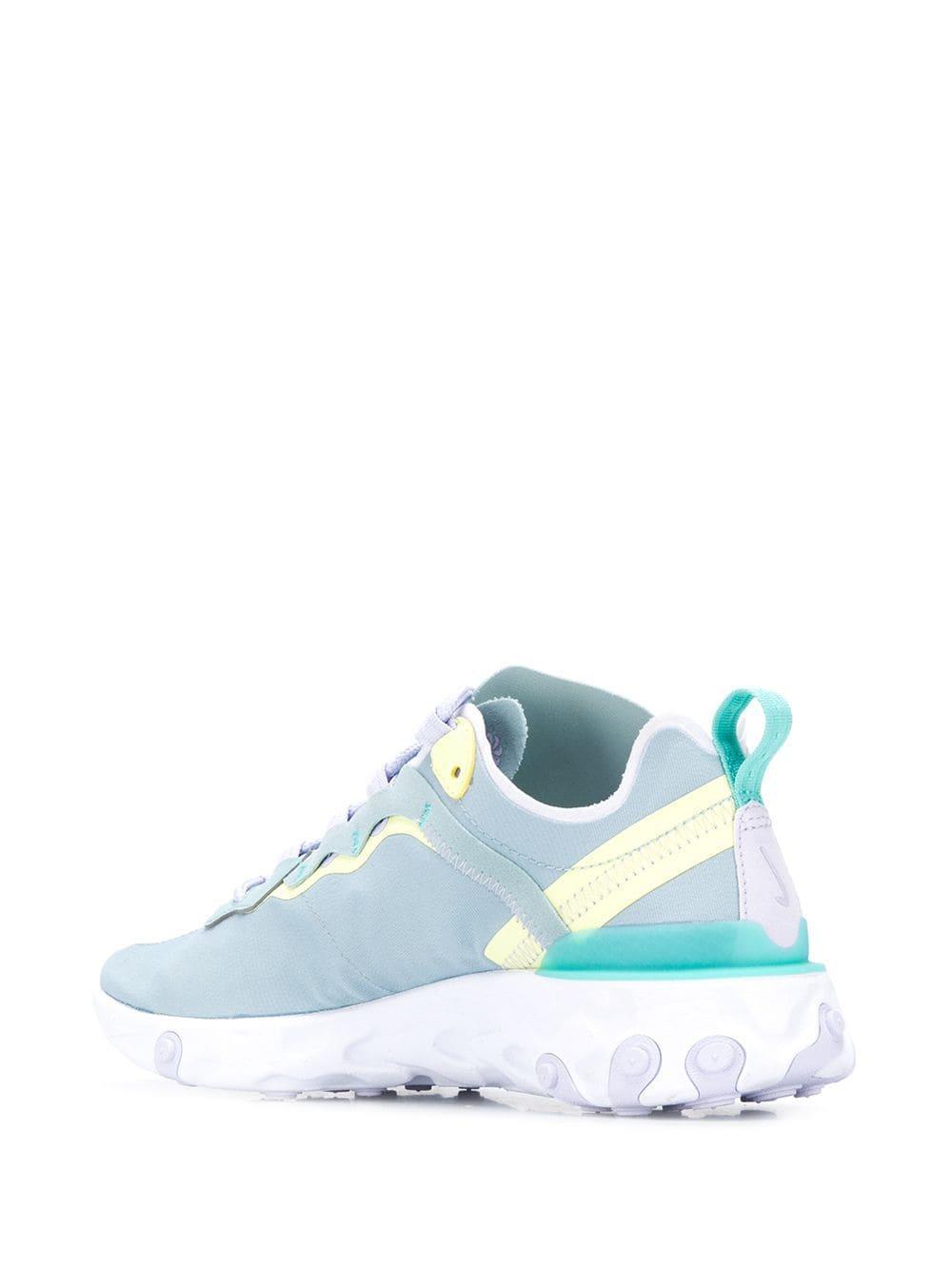 Zapatillas React Element 55 Nike de Cuero de color Azul
