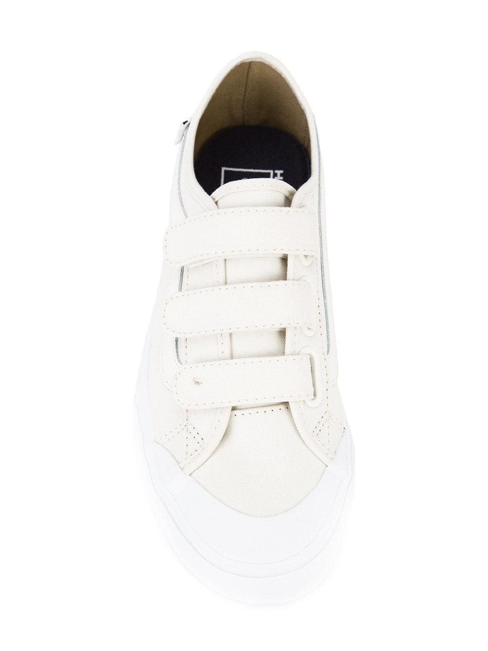 Vans Canvas Hook & Loop Fastening Sneakers in White