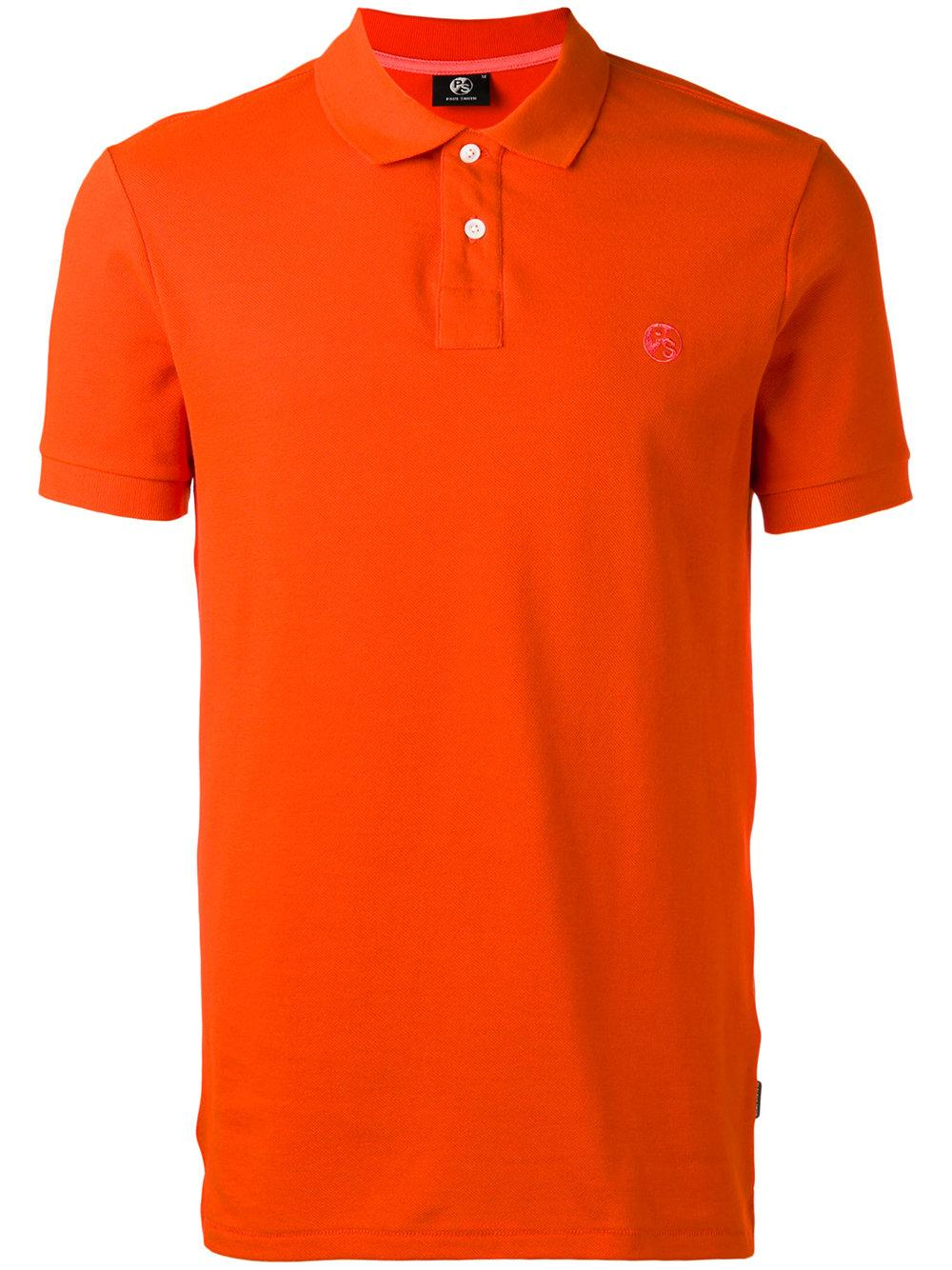 Lyst Ps By Paul Smith Classic Polo Shirt In Orange For Men