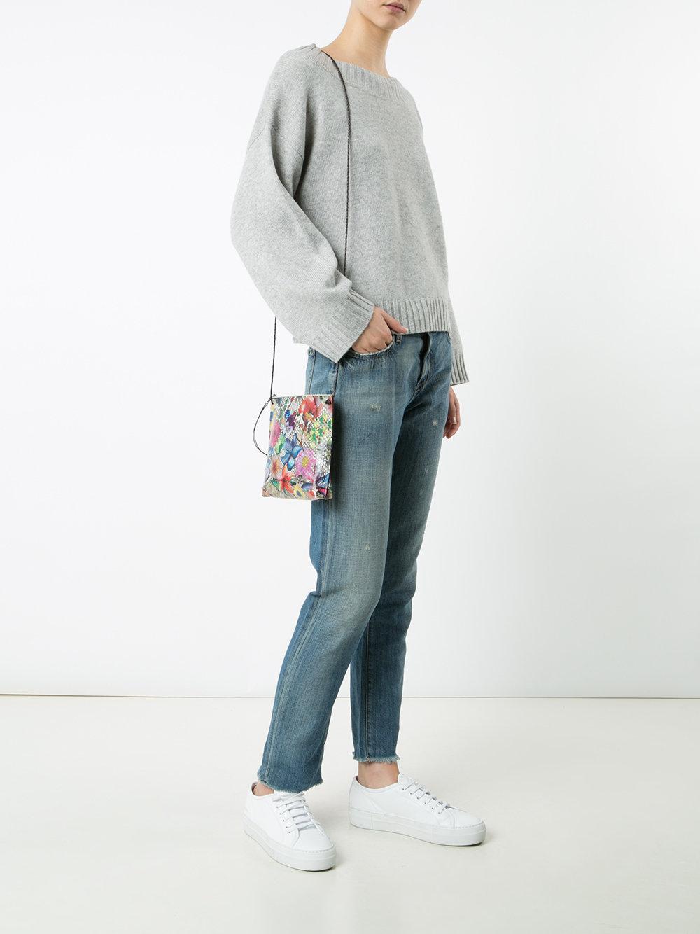 B May Floral Print Cross Body Bag