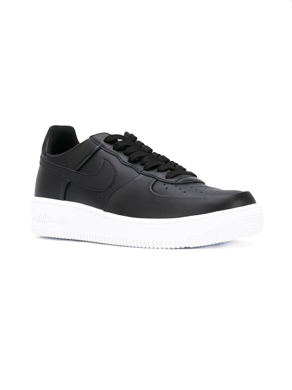 lyst nike air force 1 ultraforce scarpe in nero per gli uomini.