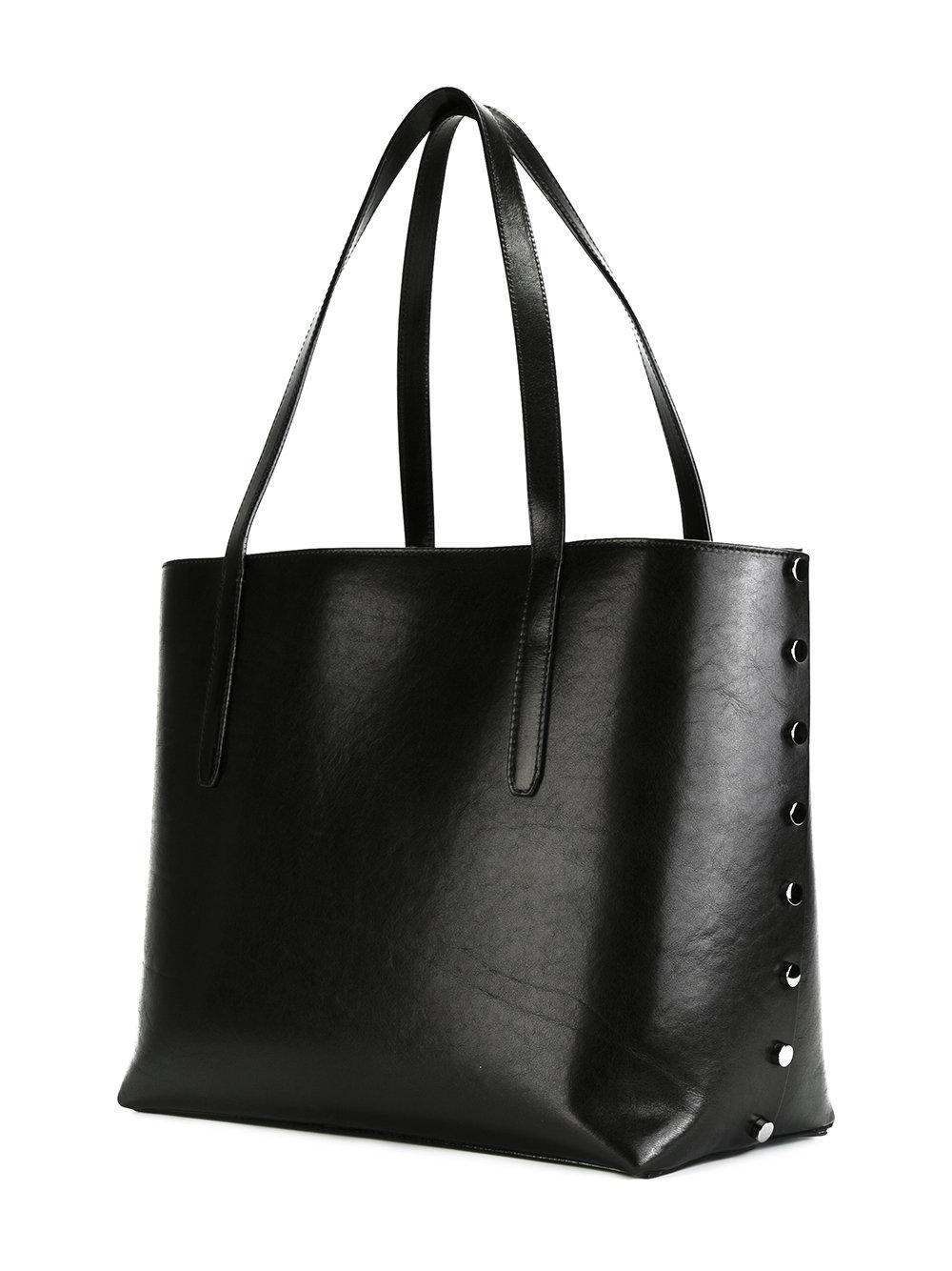 Jimmy Choo - Twist East West Tote - Women - Leather - One Size in Black