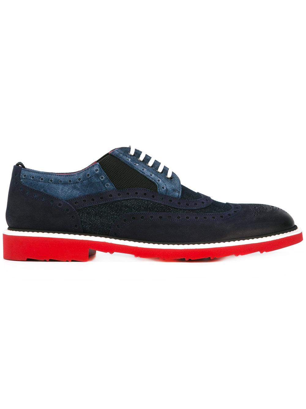 Docle Gabbana Brushed Suede Shoes