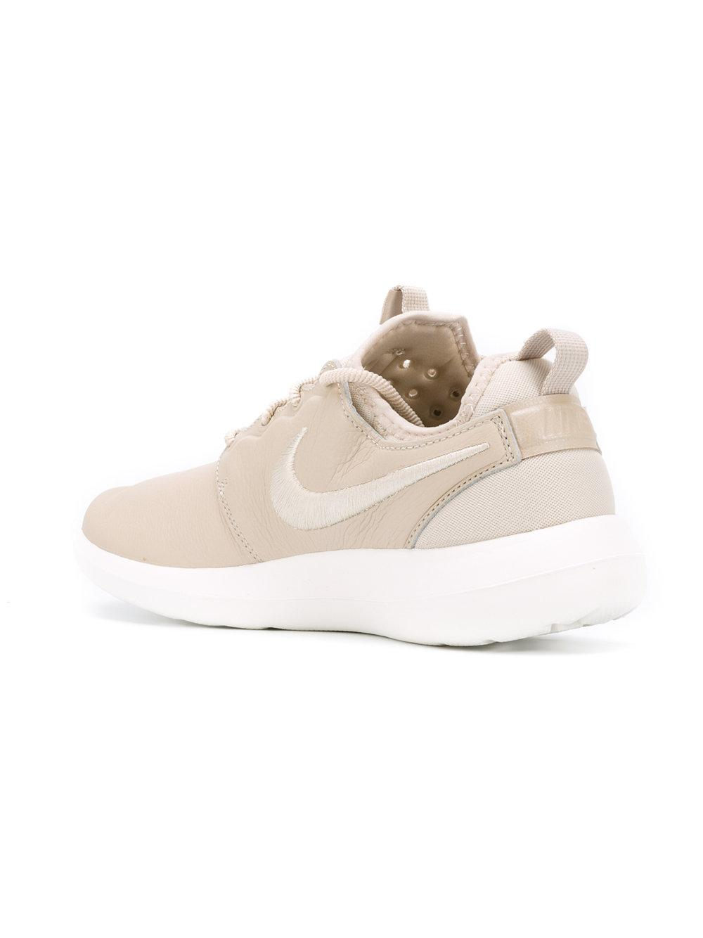 Nike Leather Roshe Two Si Sneakers in Natural