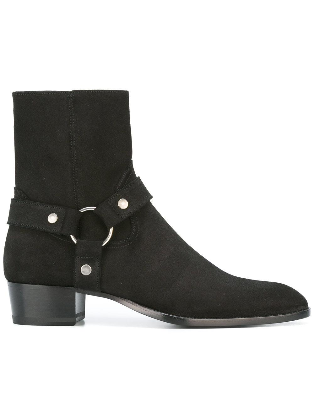 laurent classic wyatt 40 ankle boots in black lyst