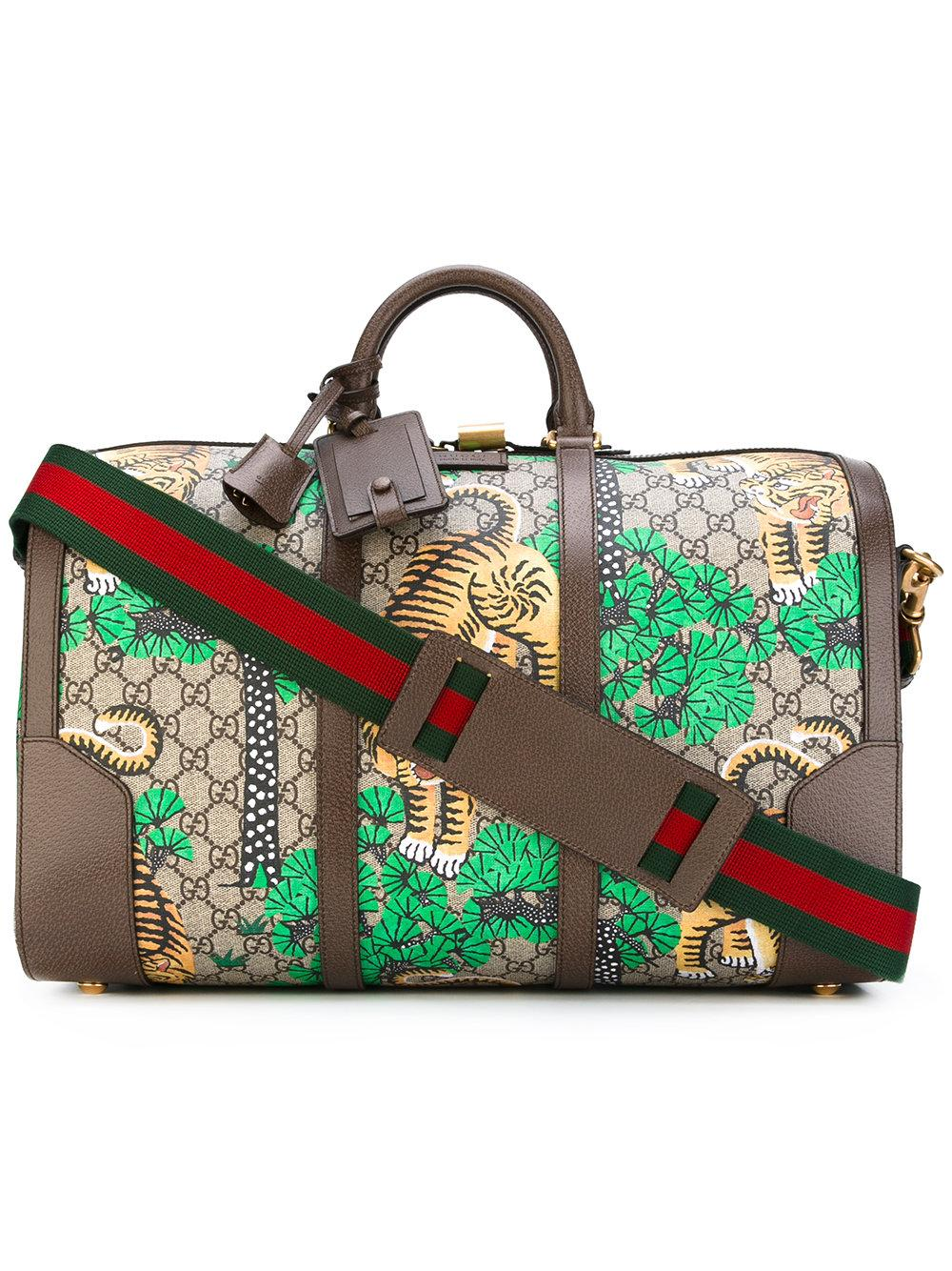 f79708ea261eac Gucci - Bengal Tiger Holdall - Women - Calf Leather polyurethane ...