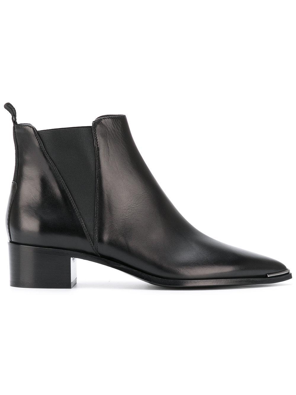acne studios 39 jensen 39 chelsea boots women calf. Black Bedroom Furniture Sets. Home Design Ideas