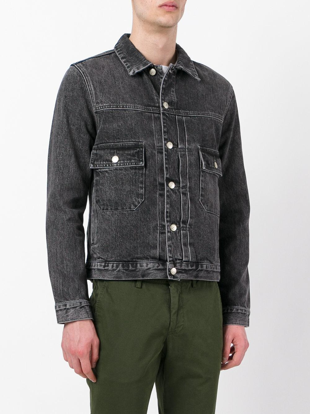 PS by Paul Smith Denim Jacket in Grey (Grey) for Men