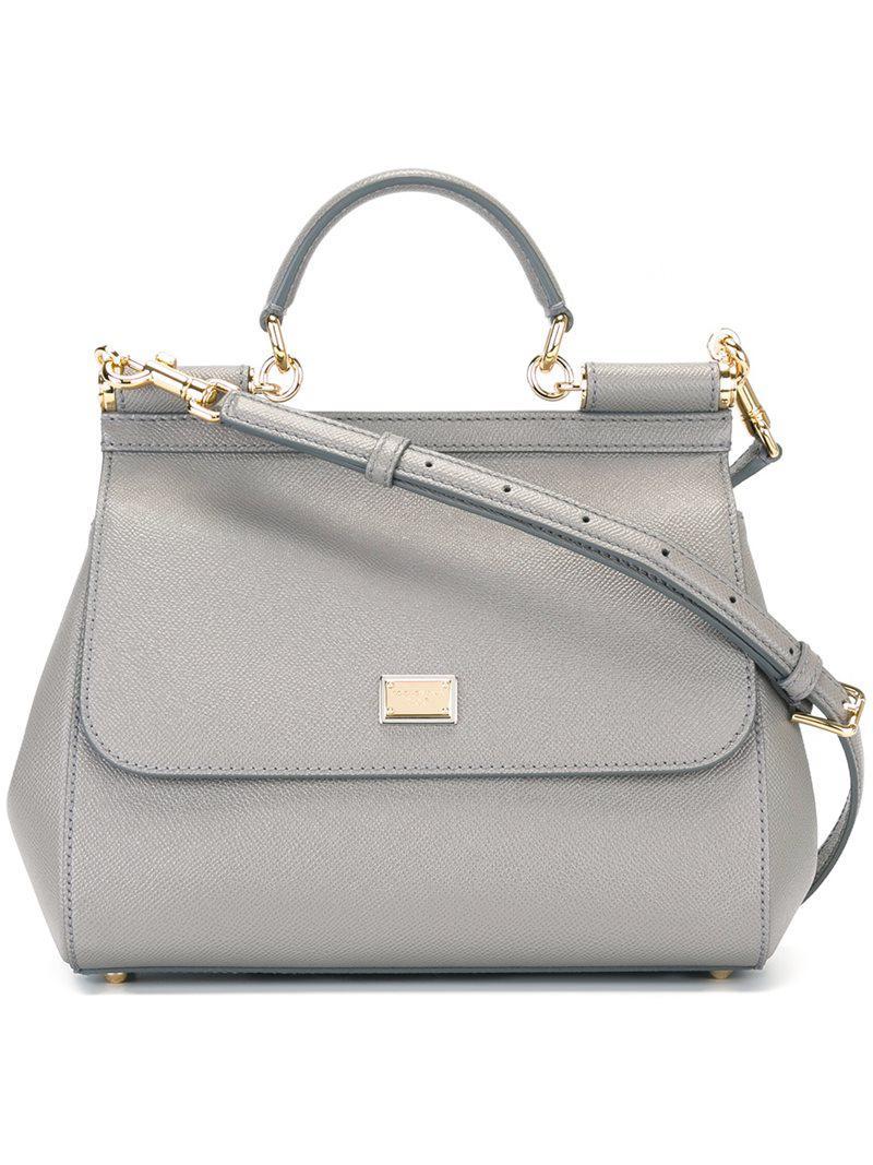 1fe183f56e Lyst - Dolce   Gabbana Medium  sicily  Tote in Gray - Save 26%