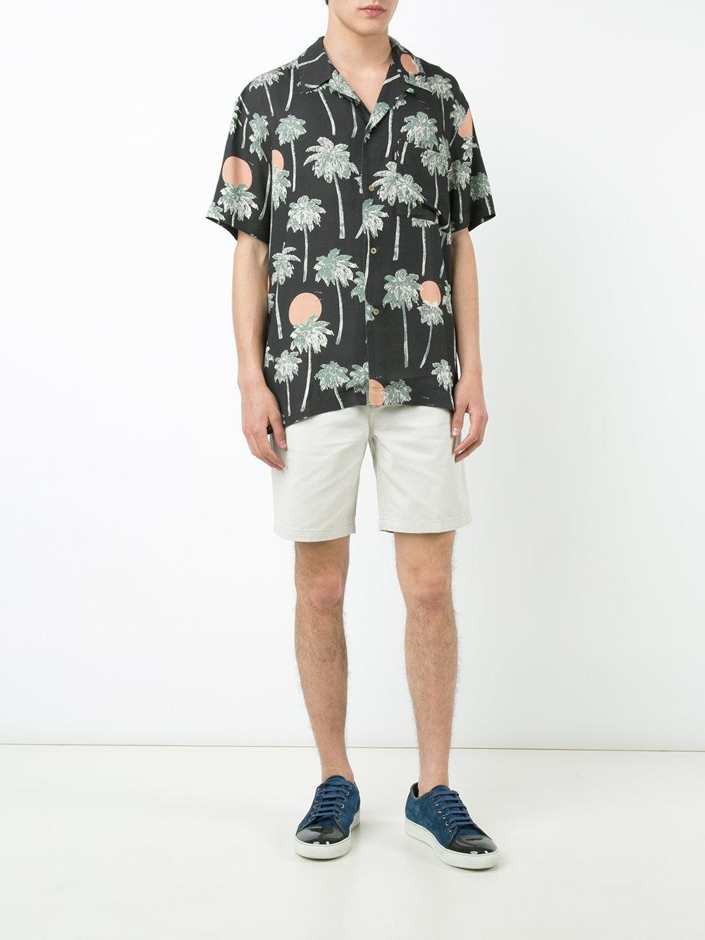 Wesc Synthetic Nevin Hawaii Shirt in Black for Men