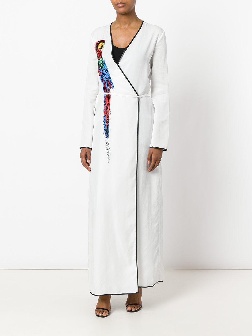 Attico Raquel Dress Women Lyocell Xxs In White Lyst