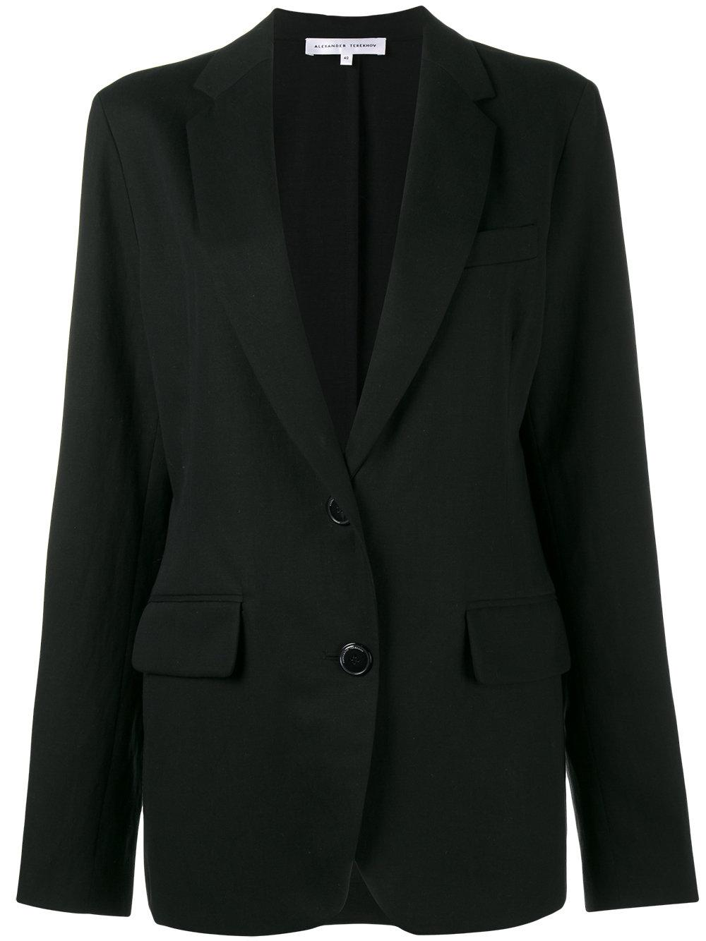 alexander black single women Single button blazer - black usd $  alexander mcqueen women's suits alexander mcqueen  the range of suits available at stylight are suitable for any formal.