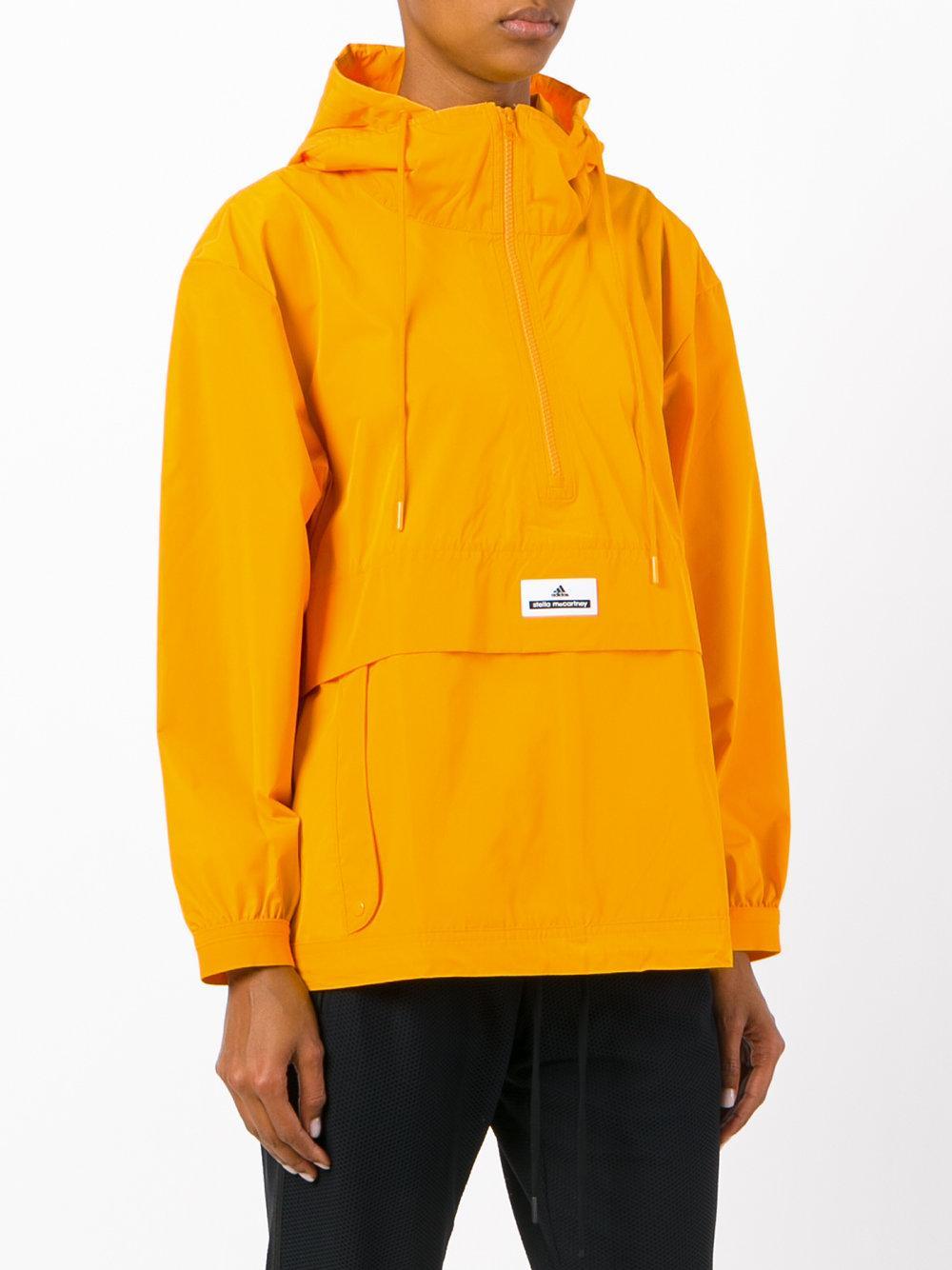 Adidas By Stella Mccartney Hooded Shell Jacket Women