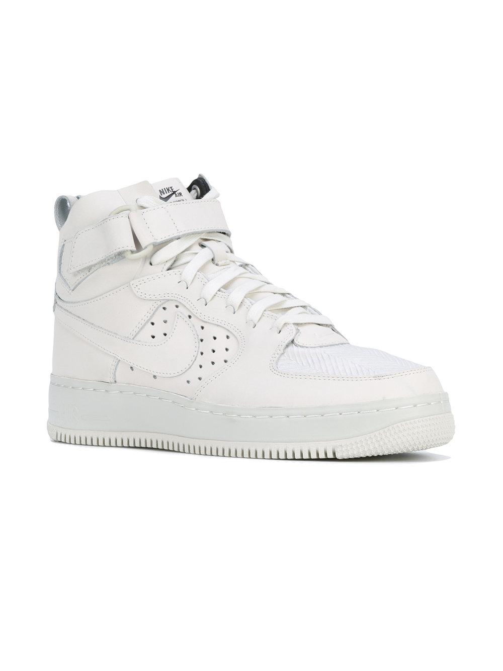 lyst nike w air force 1 hi tops in white. Black Bedroom Furniture Sets. Home Design Ideas