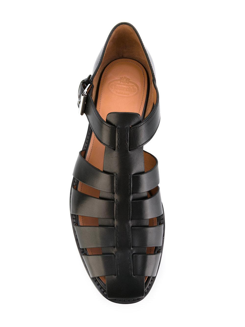 Church S Fisherman Spider Sandals In Black For Men Lyst