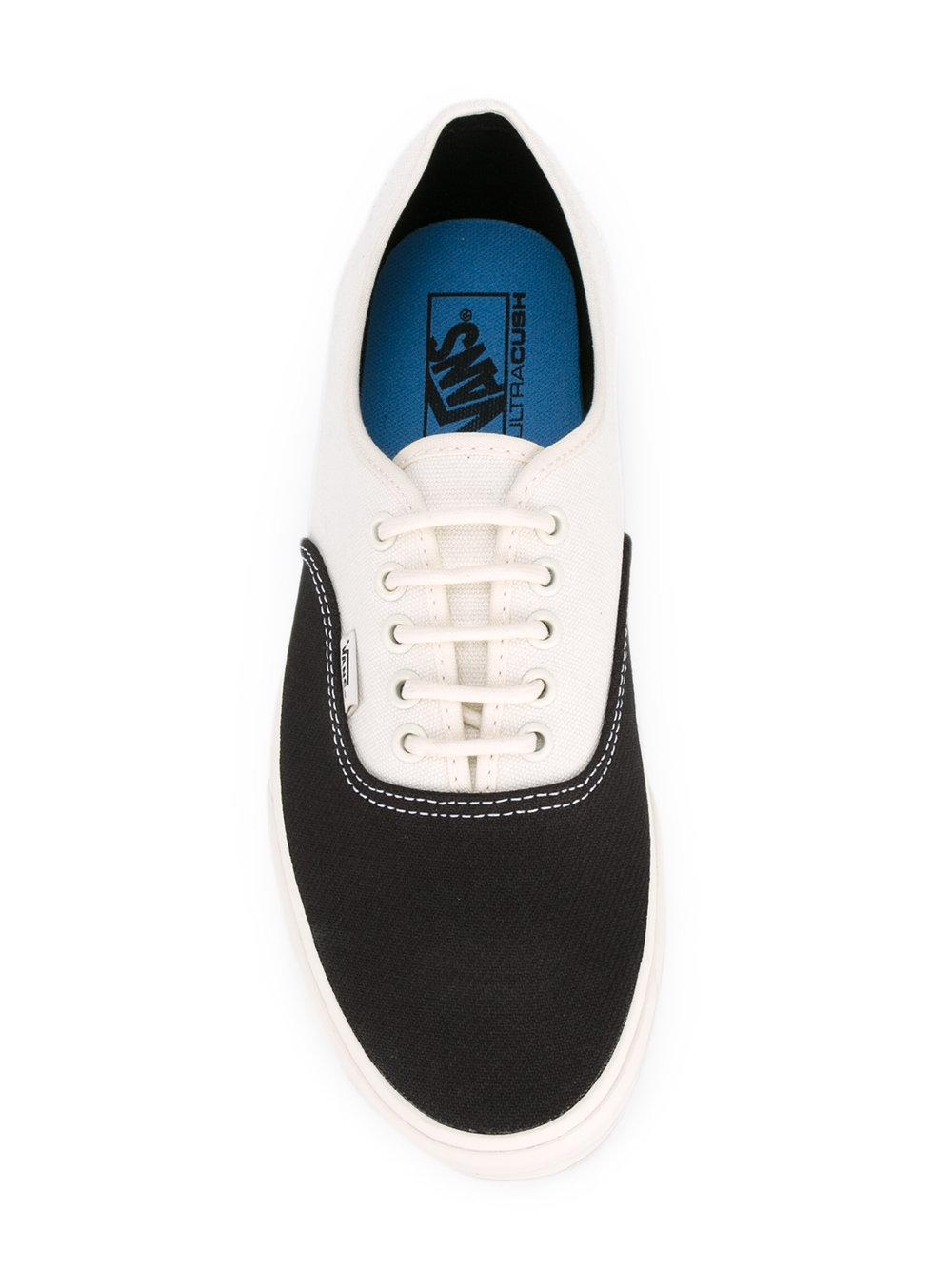 Vans Panelled Canvas Sneakers in White