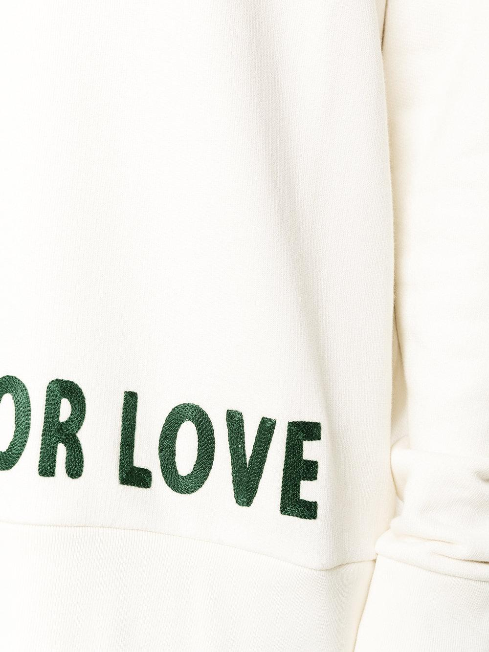 Gucci Blind For Love Embroidered Hoodie In White For Men