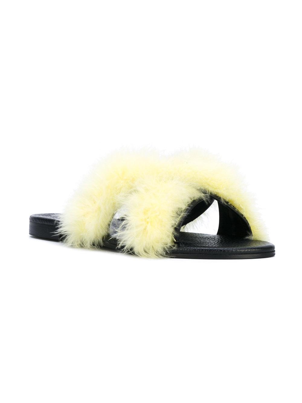 Avec Moderation | Yellow St. Tropez Sandals | Lyst. View Fullscreen