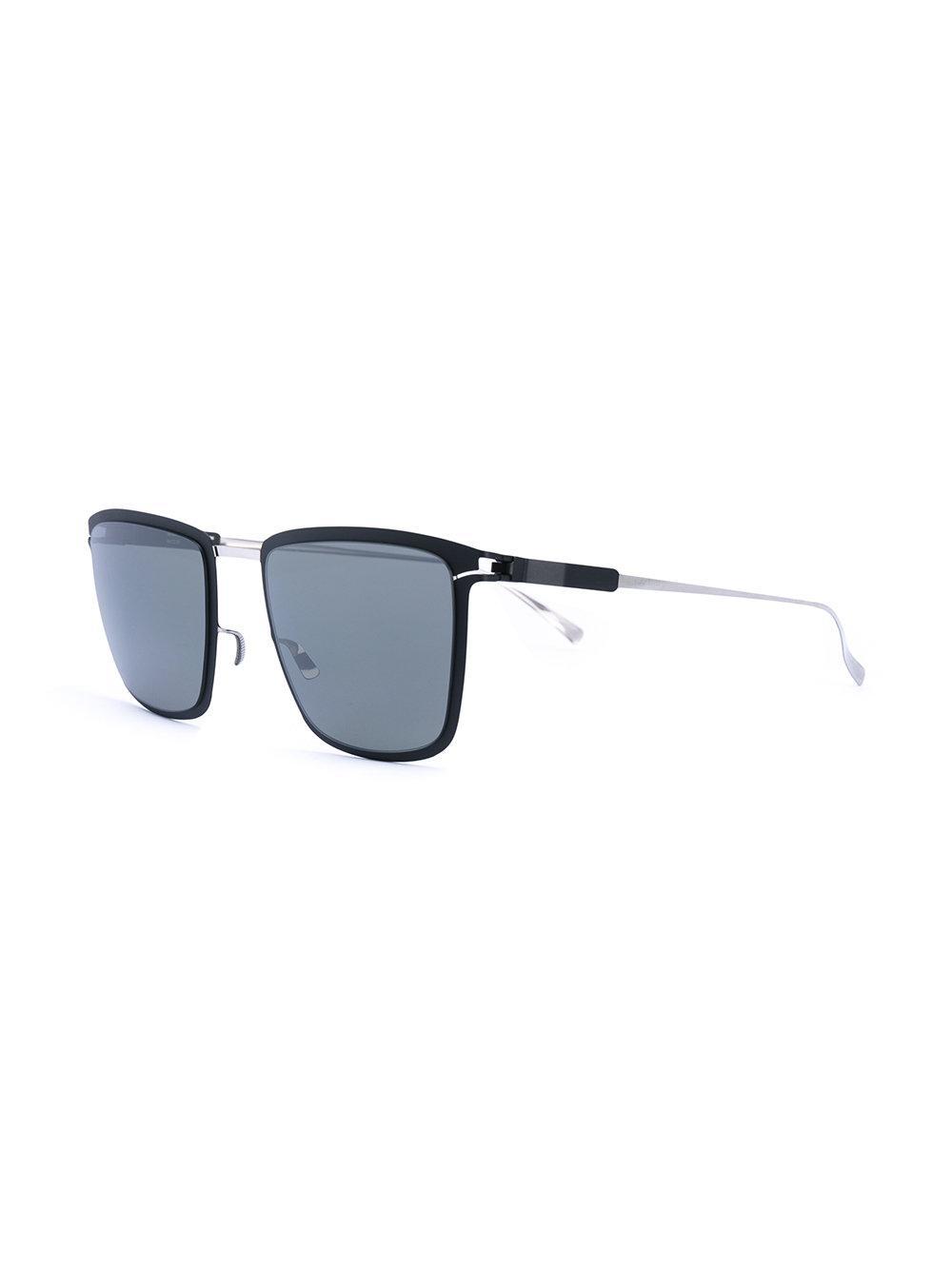Mykita Vernon Square Sunglasses in Black
