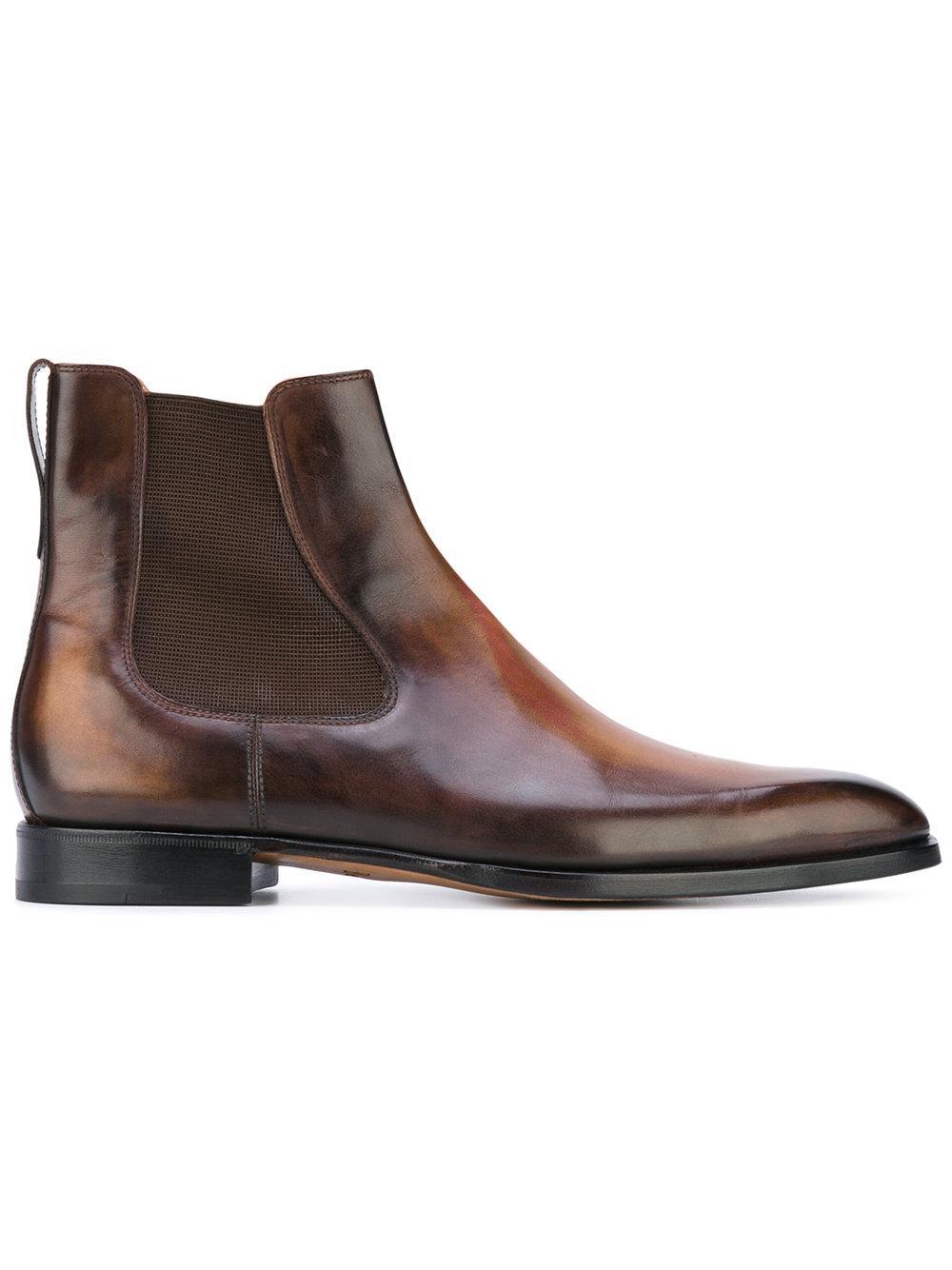 Lyst Berluti Chelsea Boots In Brown For Men