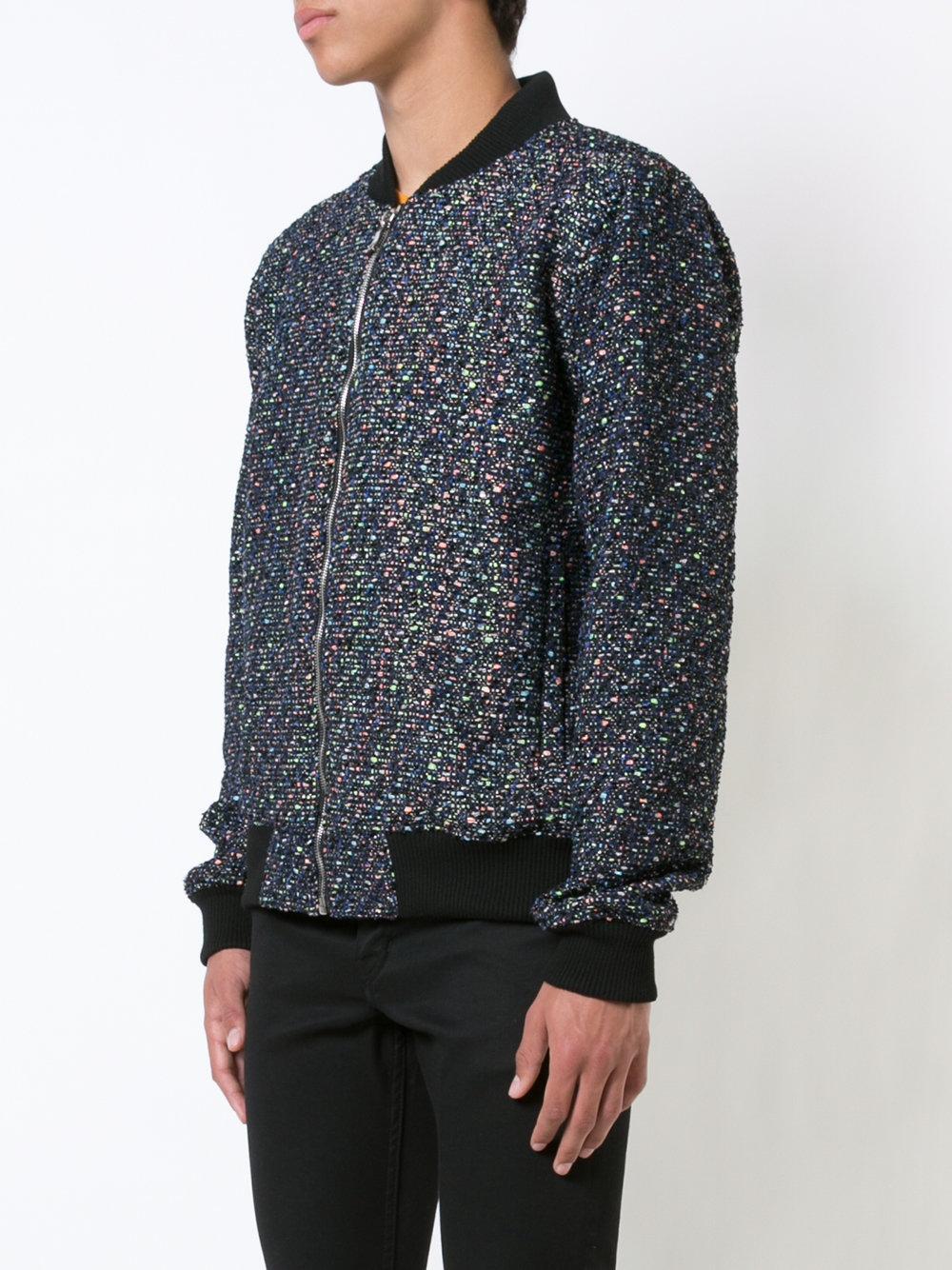 Philip Ayler Cotton Squad Bomber Jacket for Men
