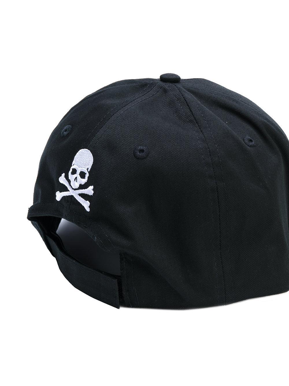 philipp plein indialantic baseball cap in black for men lyst. Black Bedroom Furniture Sets. Home Design Ideas