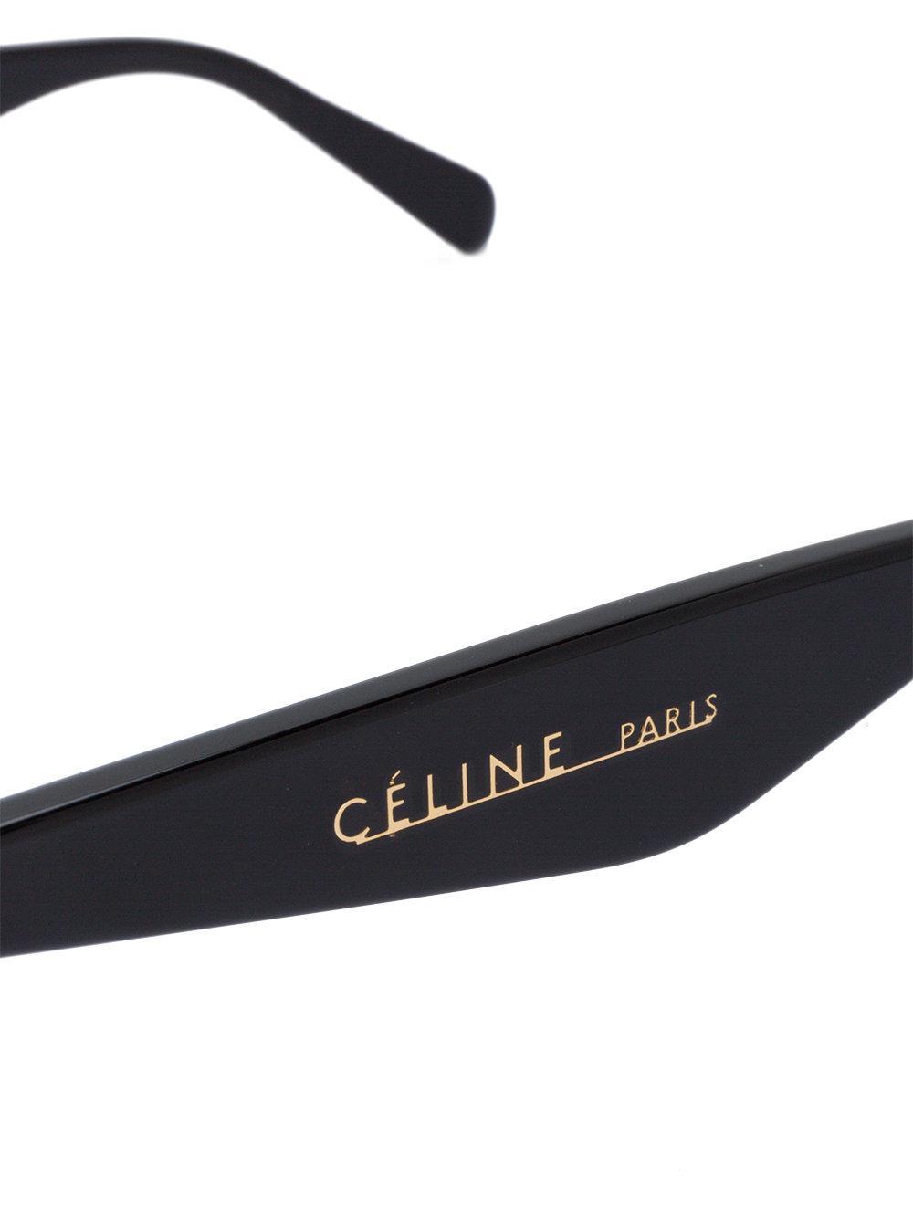 0d52752039 Celine Edge Sunglasses Black Replica