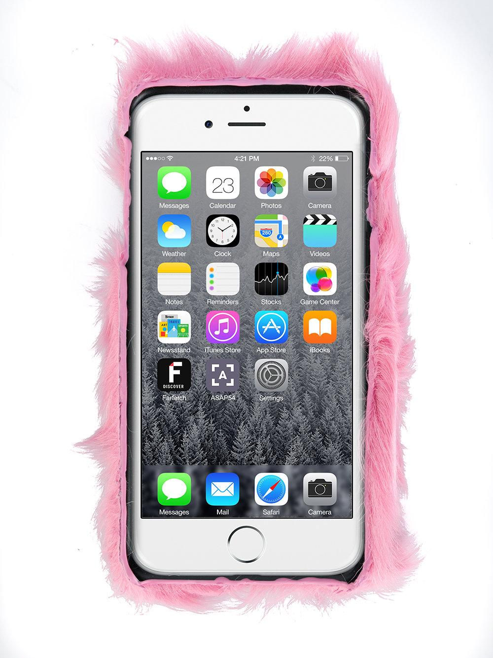 chiara ferragni flirting iphone 7 case in pink lyst. Black Bedroom Furniture Sets. Home Design Ideas