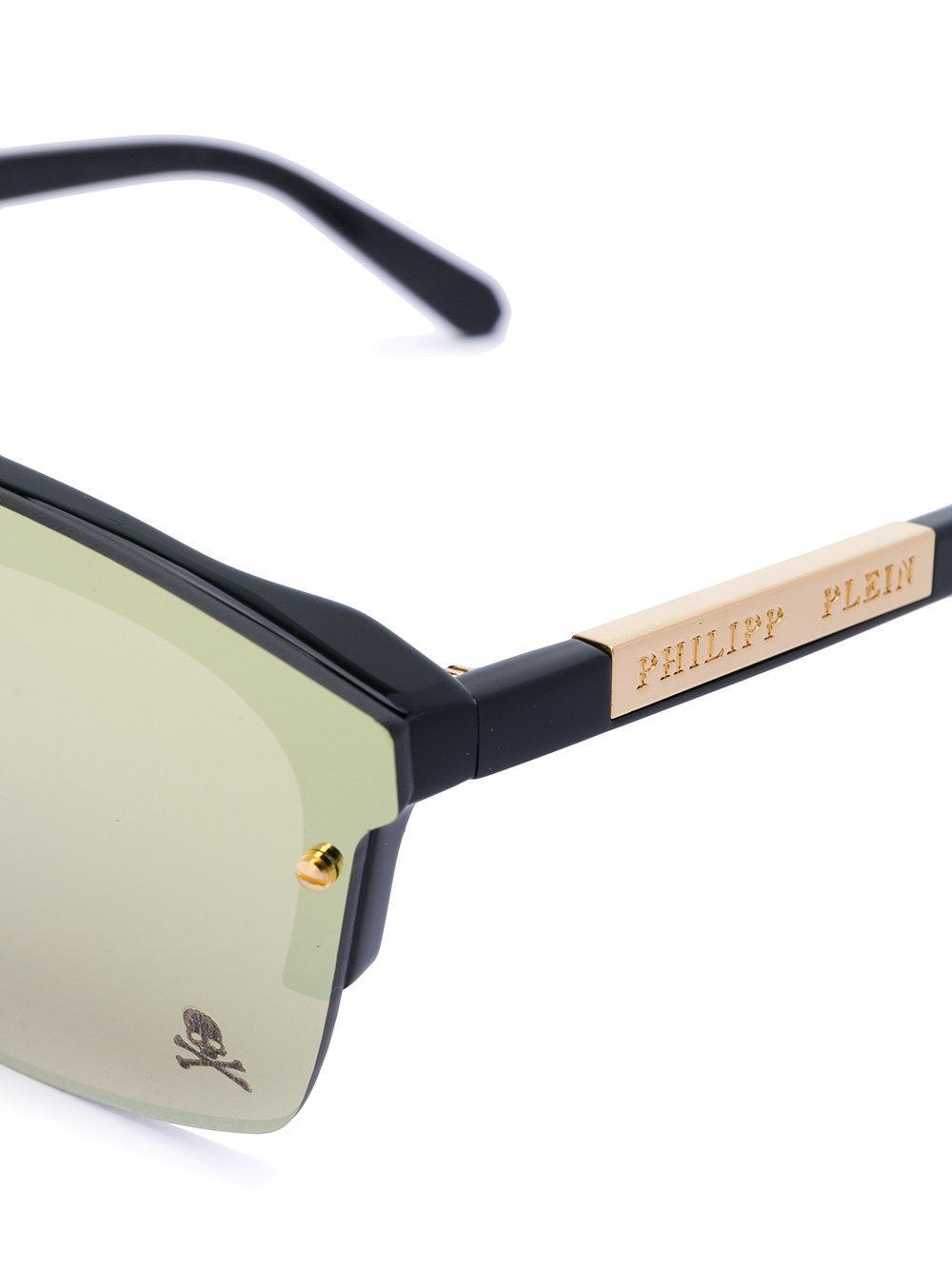 Philipp Plein Decide Sunglasses in Metallic for Men