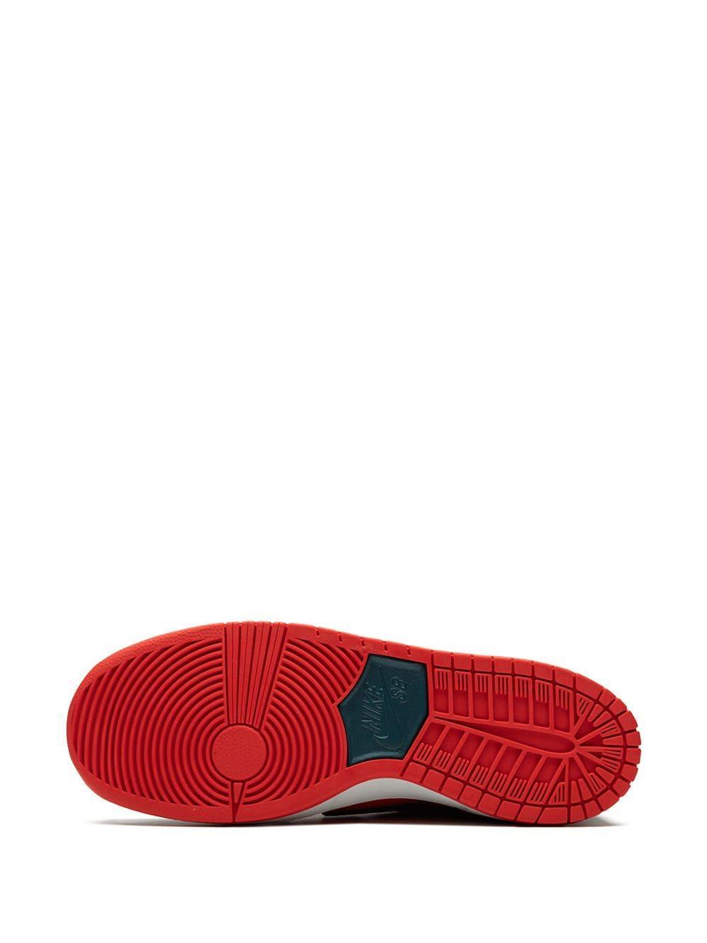 Zapatillas SB Zoom Dunk Low Pro Nike de hombre de color Rojo