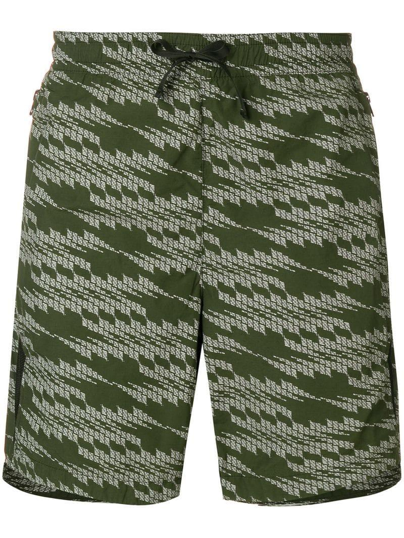 2fe339b2bf Lyst - Stone Island Shadow Project Patterned Swimming Shorts in ...