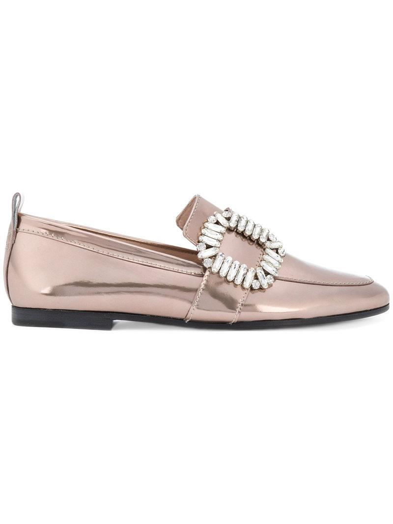 embellished buckle loafers - Metallic Kennel & Schmenger gWxQNafAU8