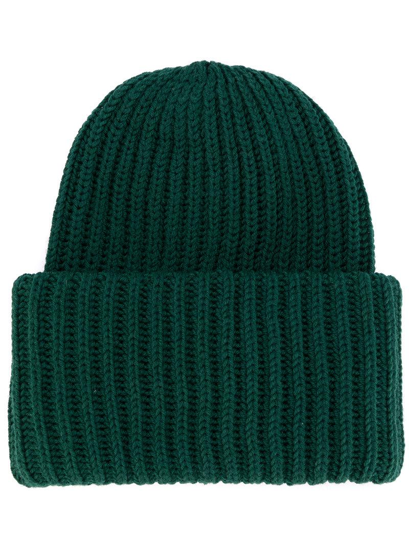 Chunky Knit Beanie In Stone - Stone New Look