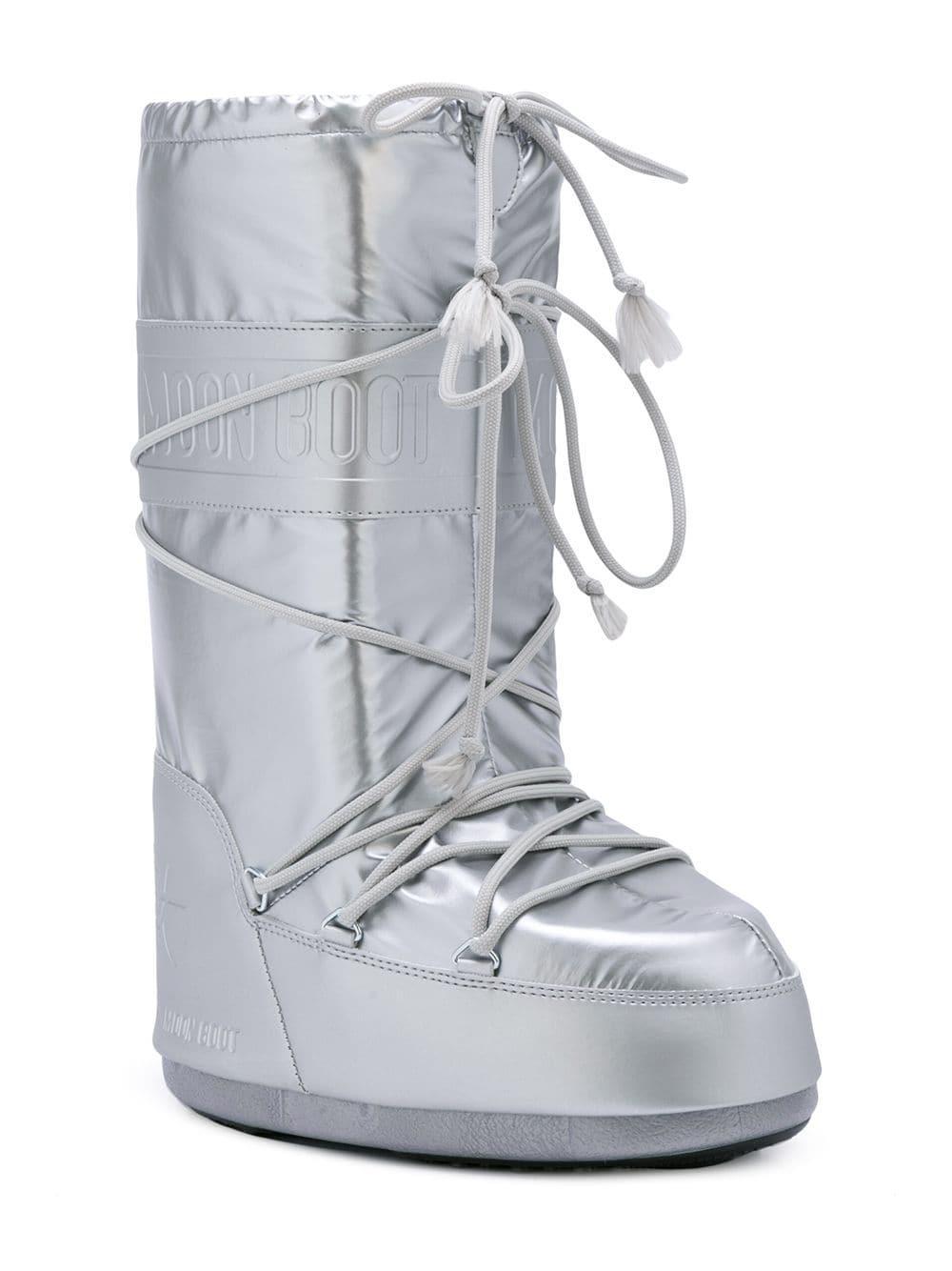 d9e20ac37fed Lyst - Jeremy Scott X Moon Boots in Metallic