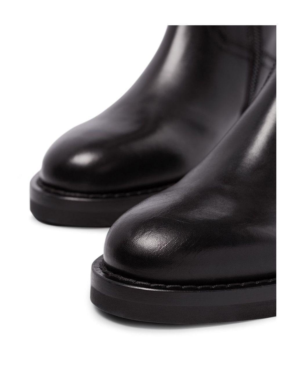 Botas con cordones Ann Demeulemeester de Cuero de color Negro