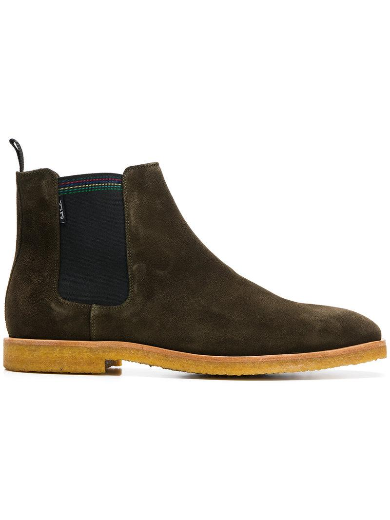 Buy Cheap Low Shipping Fee Authentic For Sale classic Chelsea boots - Brown Paul Smith wv70M2u3R