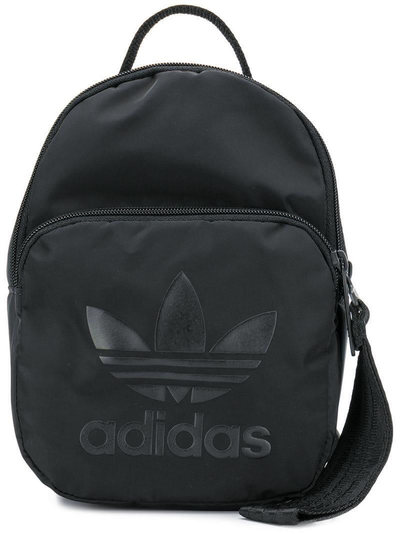 1a46a1adc347 Adidas - Black Classic Mini Backpack - Lyst. View fullscreen