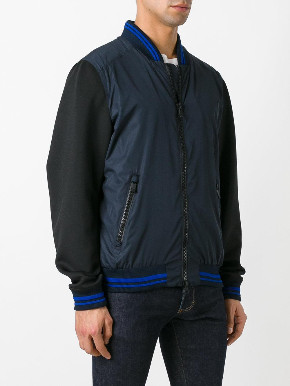 Rossignol Synthetic Louis Bomber Jacket in Blue for Men