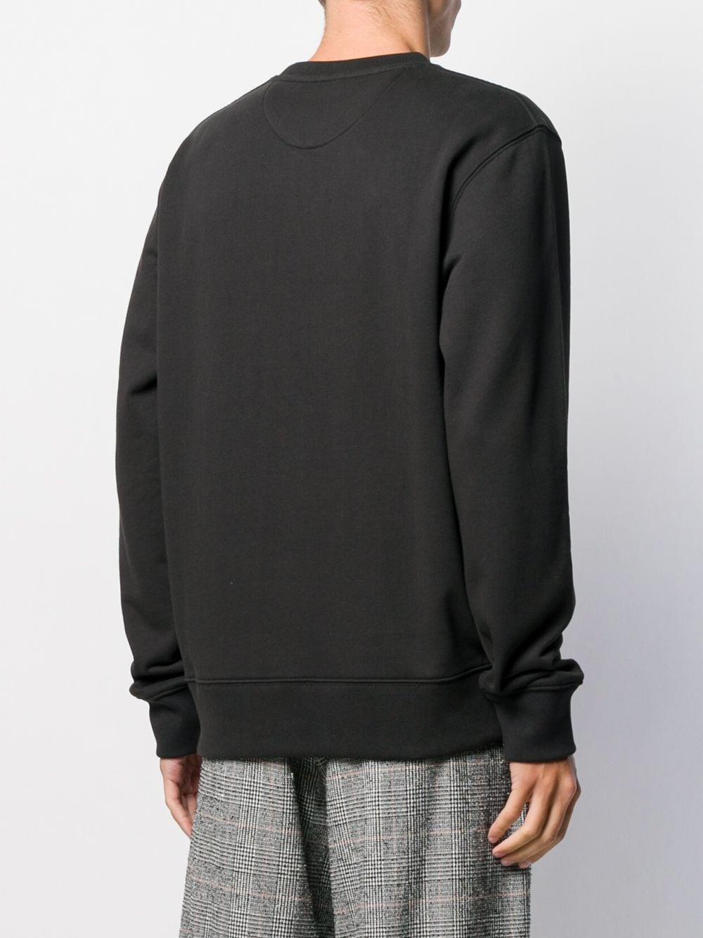 Saturdays NYC Katoen Sweater Met Logoprint in het Zwart voor heren