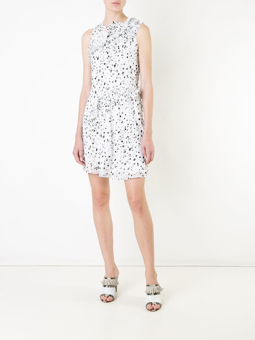 dots print dress - White Carven Q1GF4XMlU