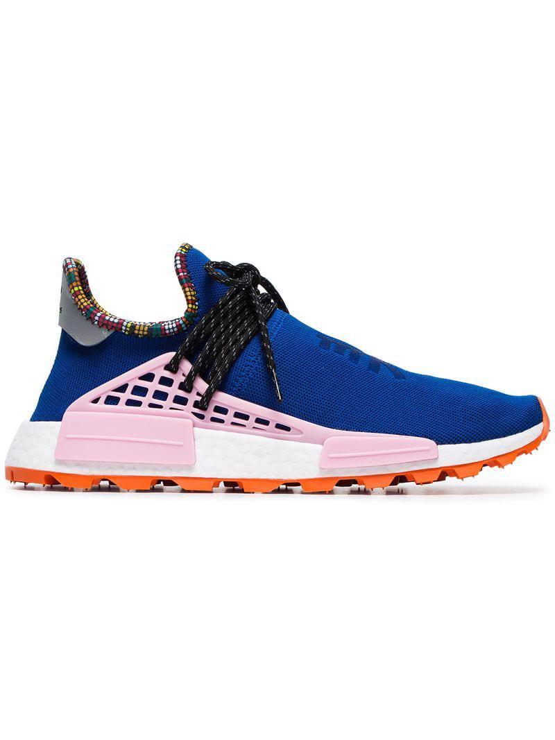 188b74e53 Lyst - adidas X Pharrell Williams Blue Human Body Nmd Sneakers in ...