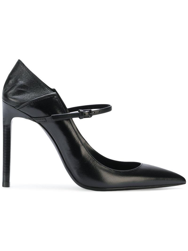 437633dfb377 Saint Laurent. Women s Black Majorelle Court Shoes