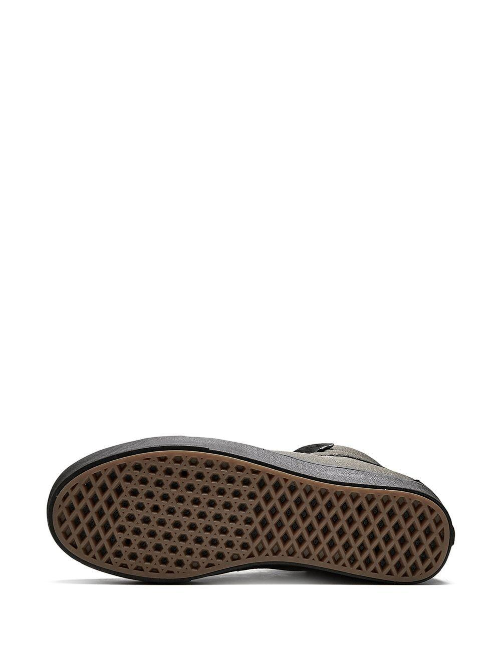 Vans Suède Comfycush Sk8-hi Sneakers in het Grijs voor heren